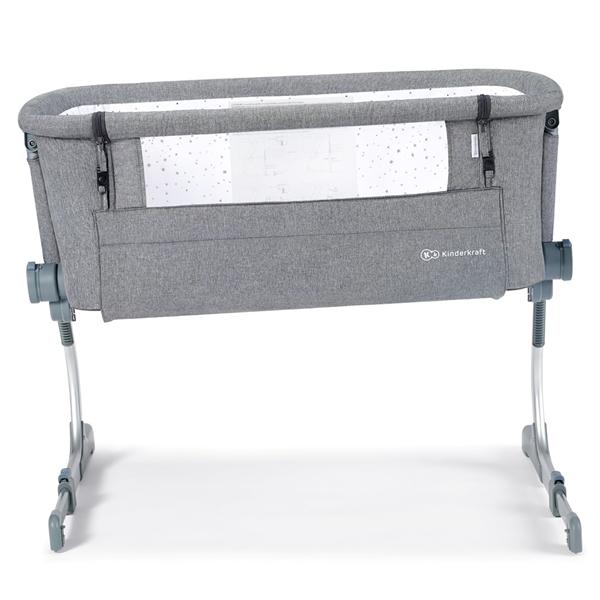 Kinderkraft Βρεφικό Λίκνο Uno Up, Grey Melange