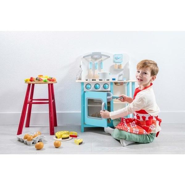 New Classic Toys Ξύλινη Κουζίνα Bon Appetit Blue