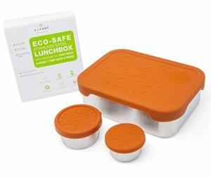 Ecozoi Lunch Box με 2 μικρά Δοχεία