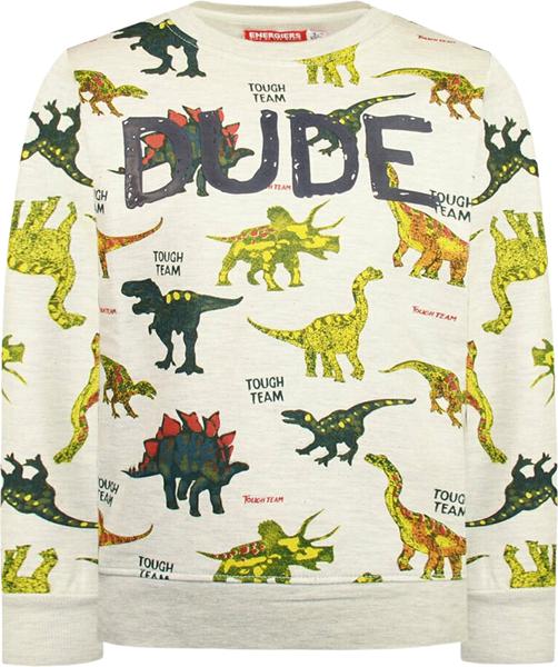 Energiers Παιδική Μπλούζα Για Αγόρια Δεινόσαυροι, Γκρί