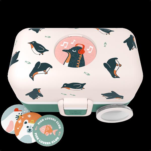 Picture of Monbento Φαγητοδοχείο Πλαστικό LunchBox Tresor - Penguin