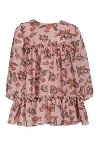 M&B Fashion Παιδικό Φόρεμα Φλοράλ, Ροζ