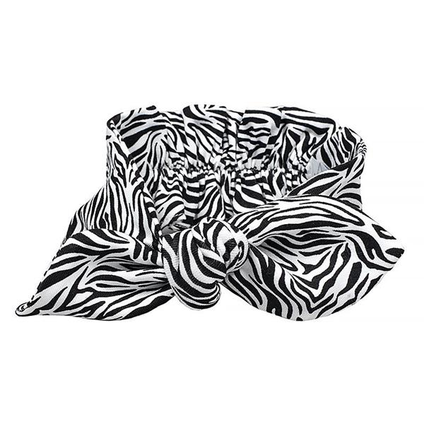 Καρφιτσωμένος Γάτος - Κορδέλα για τα Μαλλιά - Tiger White