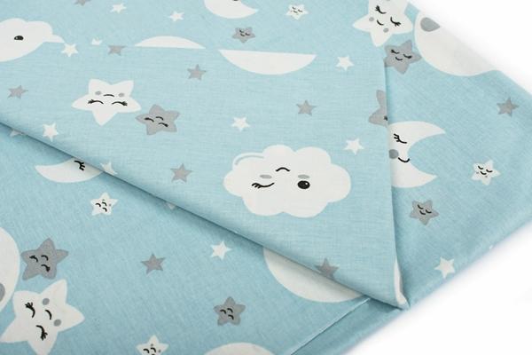 Dim Collection - Σετ σεντόνια παιδικά 3τμχ - Smile Blue 160*240εκ