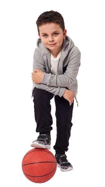 Hashtag Παιδικό Σετ Φόρμας 3 τμχ Φλις Ζακέτα, Μπλούζα Και Παντελόνι, Γκρί