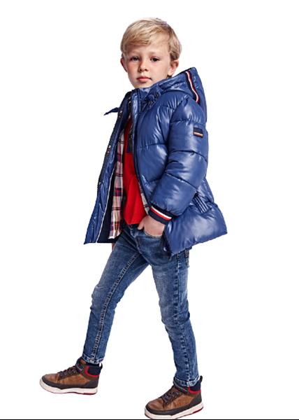 Mayoral Παιδικό Παντελόνι Τζιν Slim fit Για Αγόρι, Μπλέ